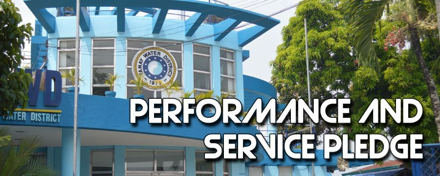 PERFORMANCE AND SERVICE PLEDGE